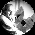 Artist Reale Frangi - Museum of Geometric and MADI Art in Dallas