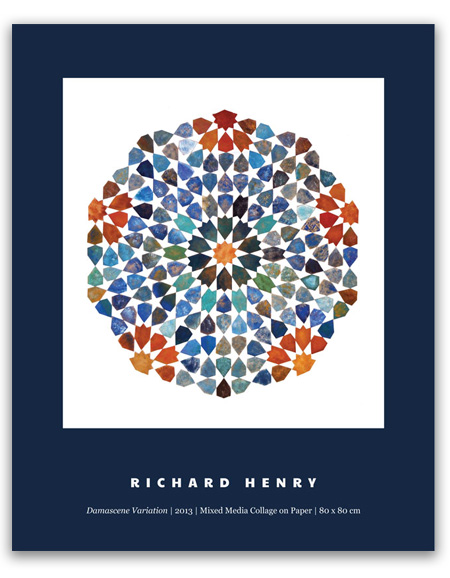 Richard Henry Poster Geometric Art
