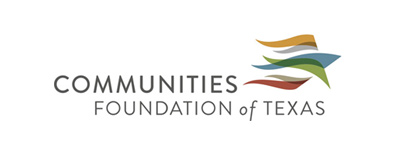 Communities Foundation of Texas logo: A Sponsor of The Museum of Geometric and MADI Art - a free art museum in Dallas