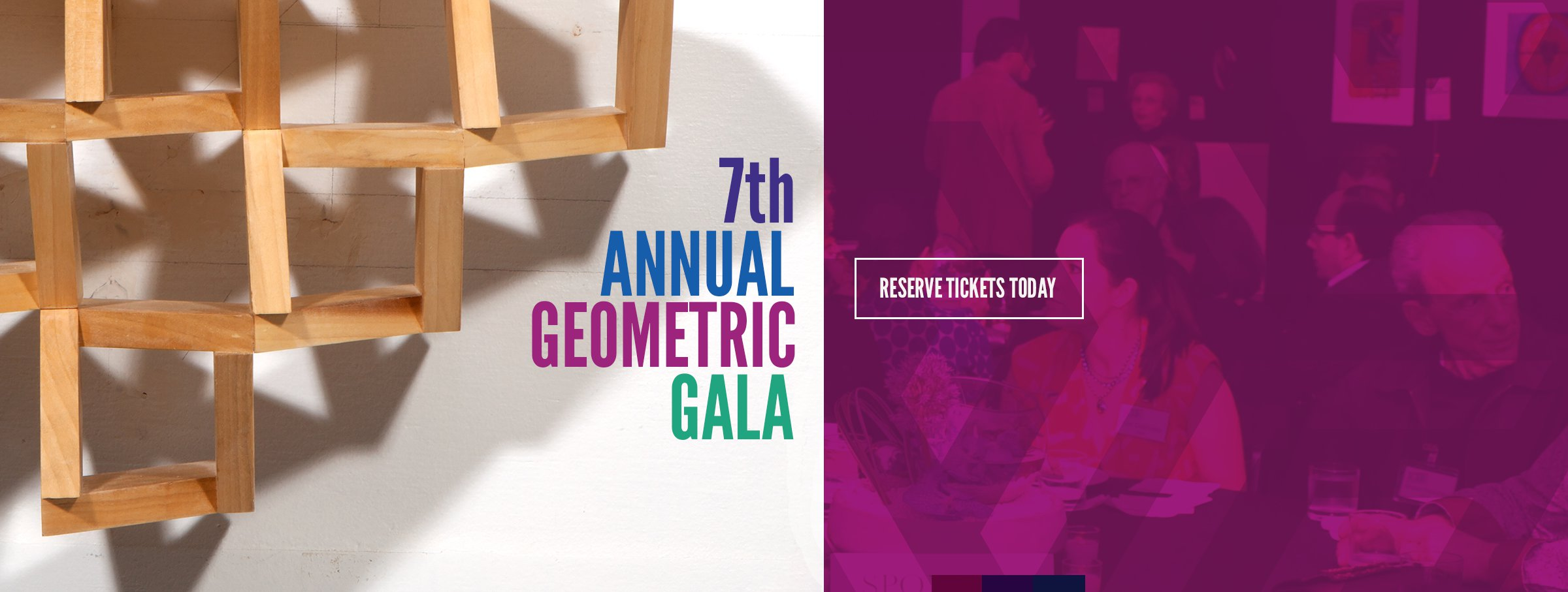 Tickets for the 2015 Geometric Gala