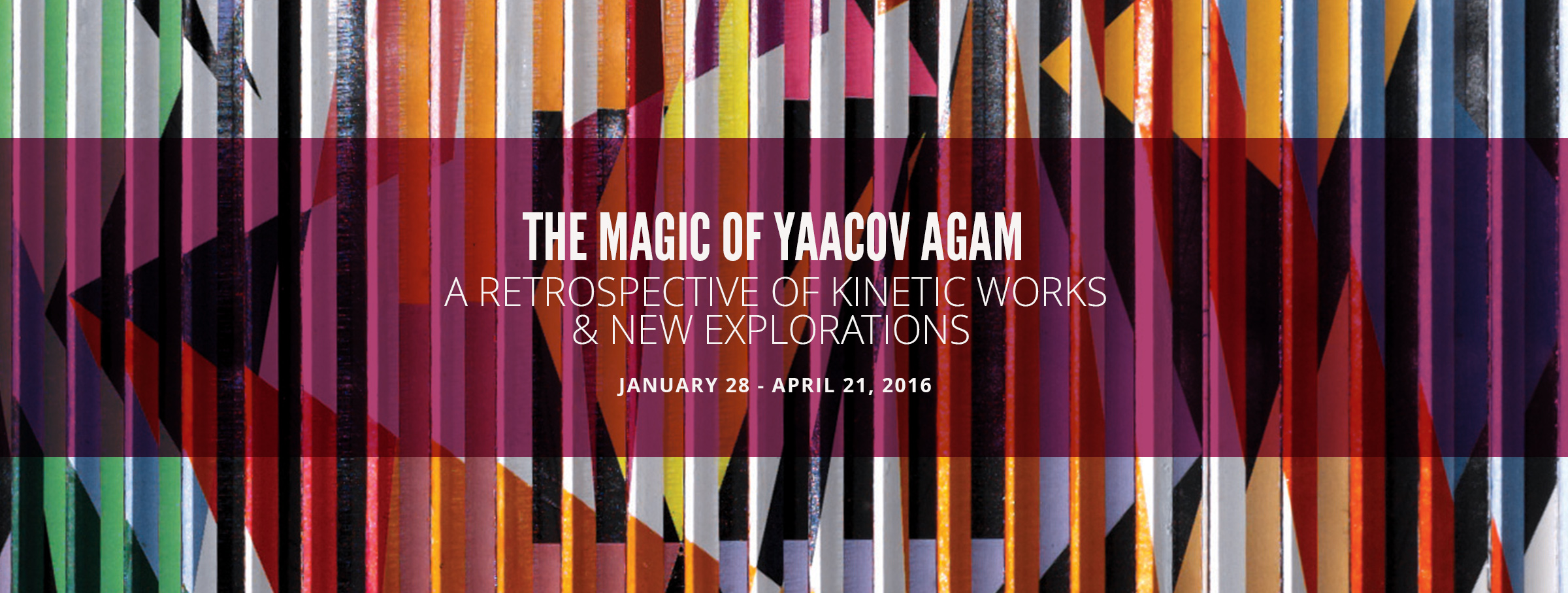 Free Things to do in Dallas - Yaacov Agam Exhibit at The Museum of Geoemtric and MADI Art