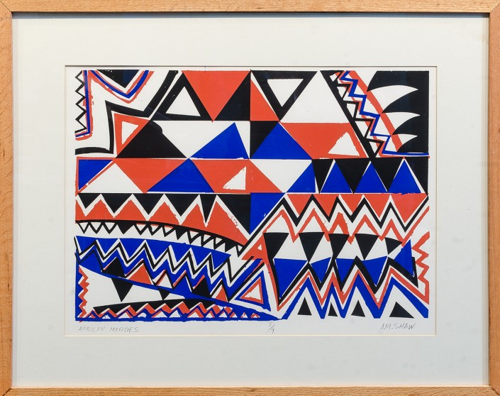 Free things to do in Dallas - Albert Shaw at the Museum of Geometric and MADI Art