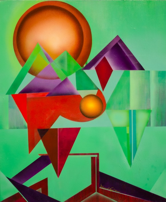 Free Things to do in Dallas - Ed Napolitan at the Museum of Geometric and MADI Art