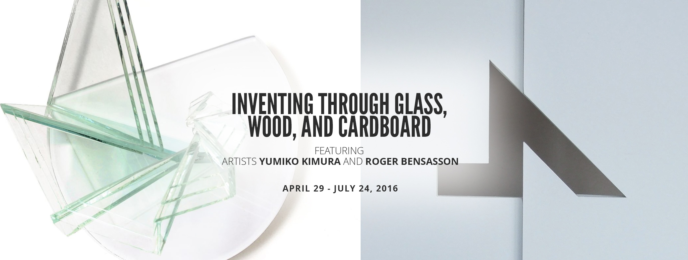 Free things to do in Dallas - Roger Bensasson and Yumiko Kimuri at the Museum of Geometric and MADI Art
