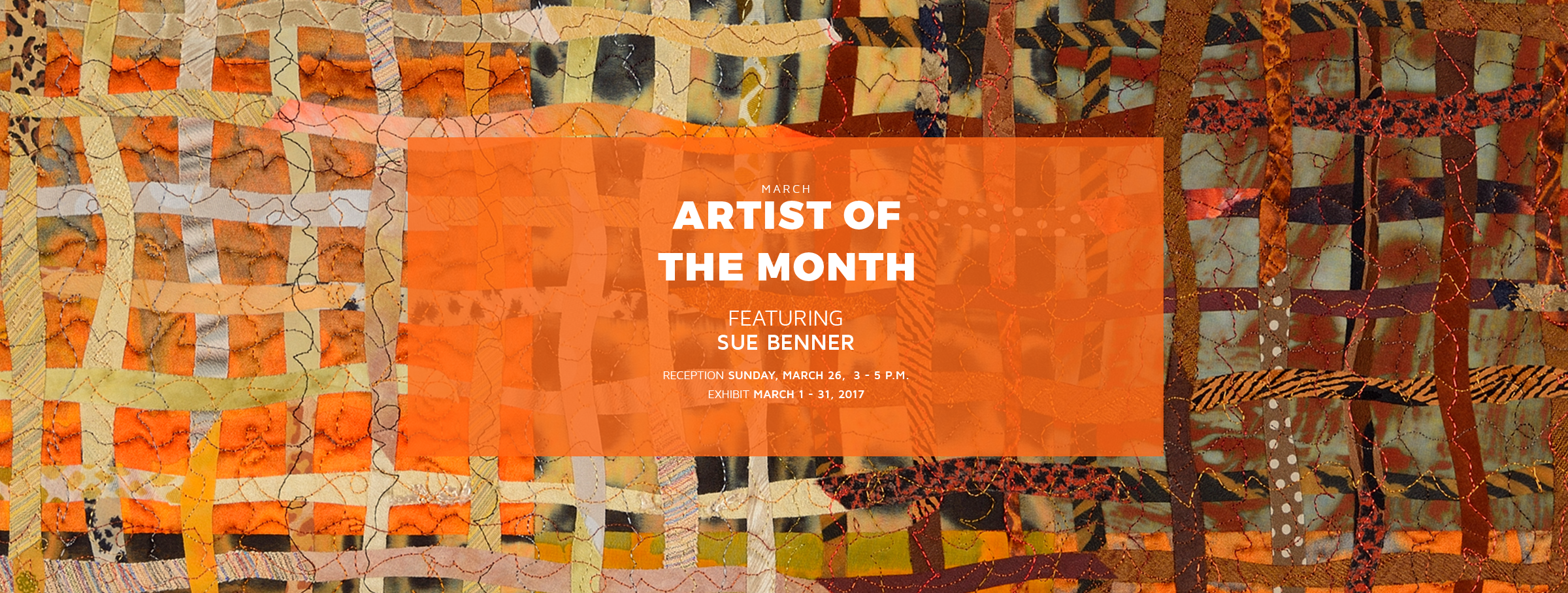 Geometric Art Exhibits in Dallas: Sue Benner at the Museum of Geometric and MADI Art
