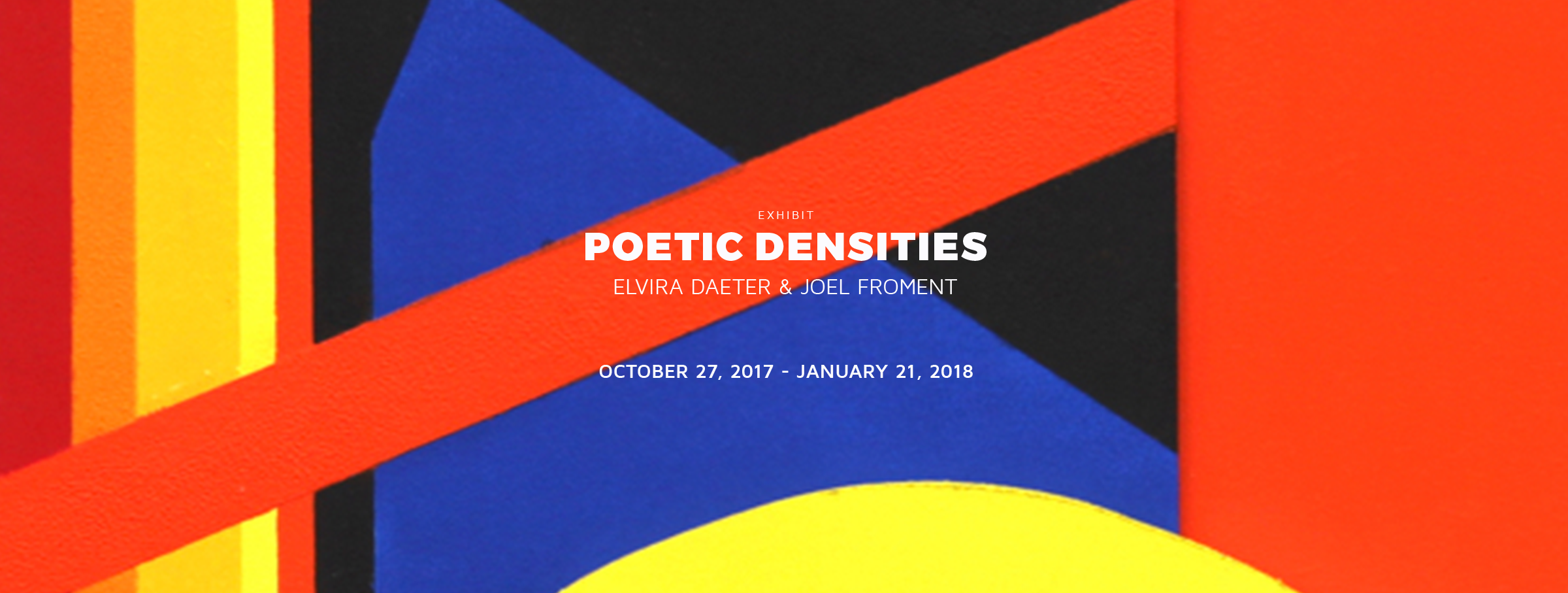 Geometric Art Exhibits in Dallas: Daeter and Froment at the Museum of Geometric and MADI Art